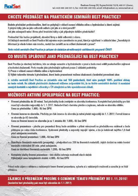 Možnosti spolupráce - best practice - zadní strana